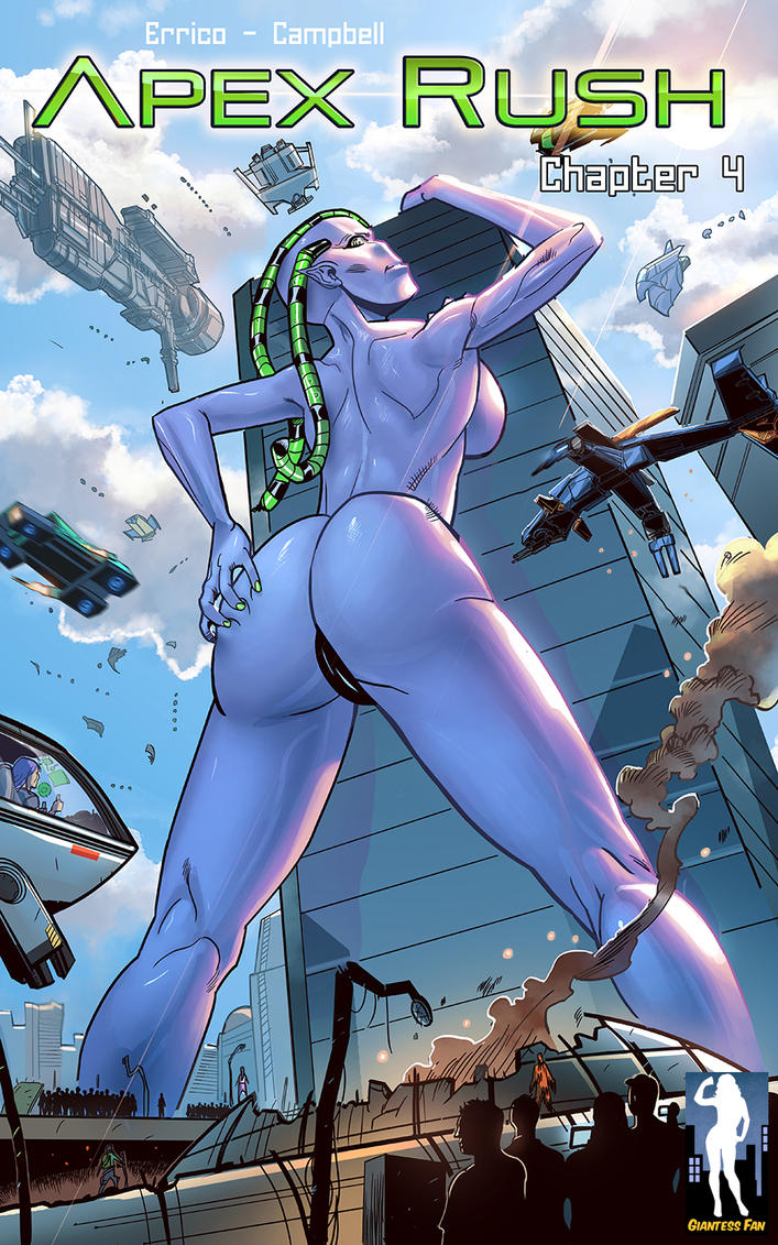 Apex Rush 4 - The Purple People Eater by giantess-fan-comics