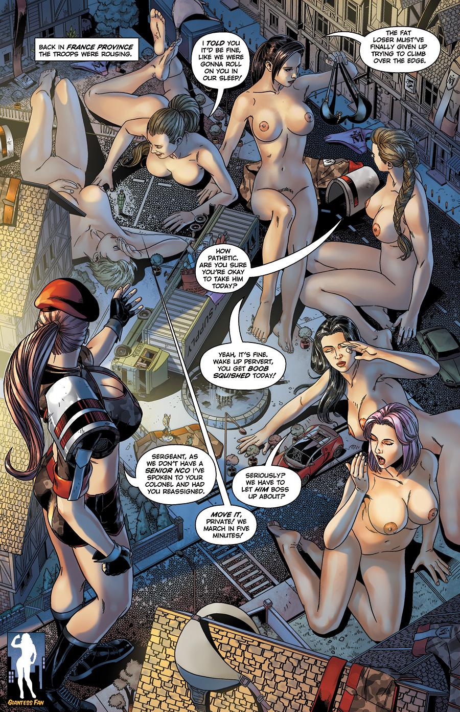 Macrostania Marches On! by giantess-fan-comics