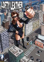 Lofty Leather - Kinky Justice by giantess-fan-comics