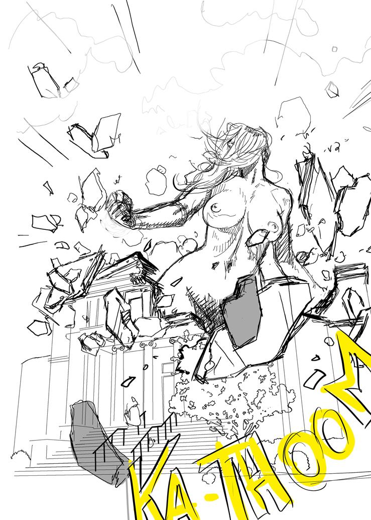 KA-THOOM by giantess-fan-comics