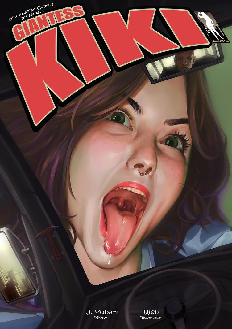 Giantess Kiki - Big On The Internet by giantess-fan-comics