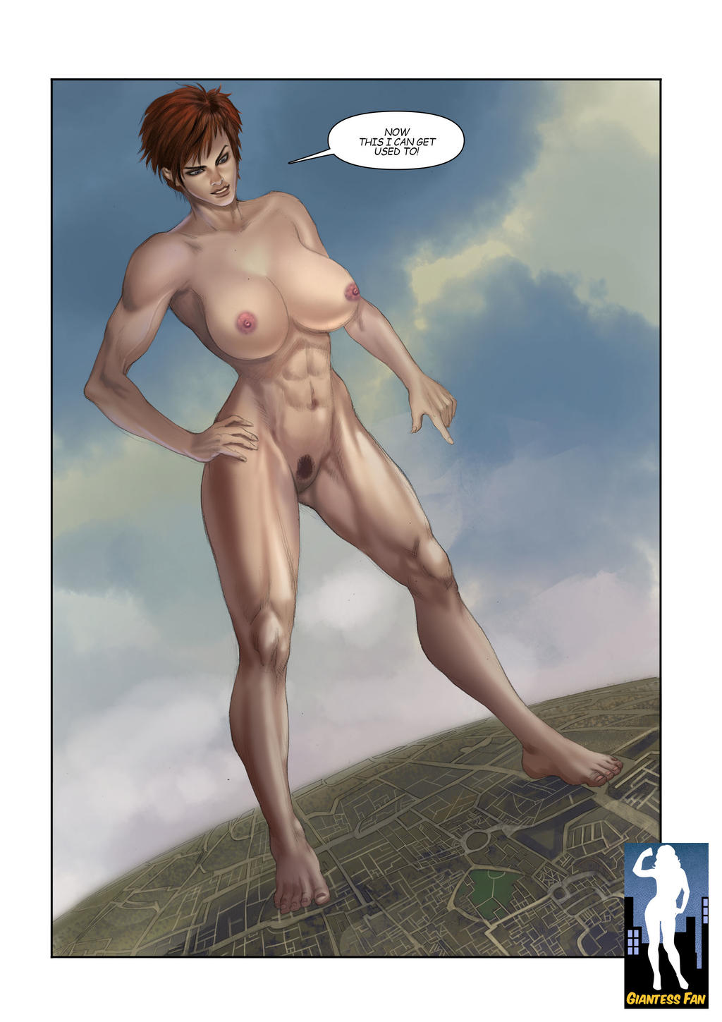 Giantess fan goddess adbc porn comics
