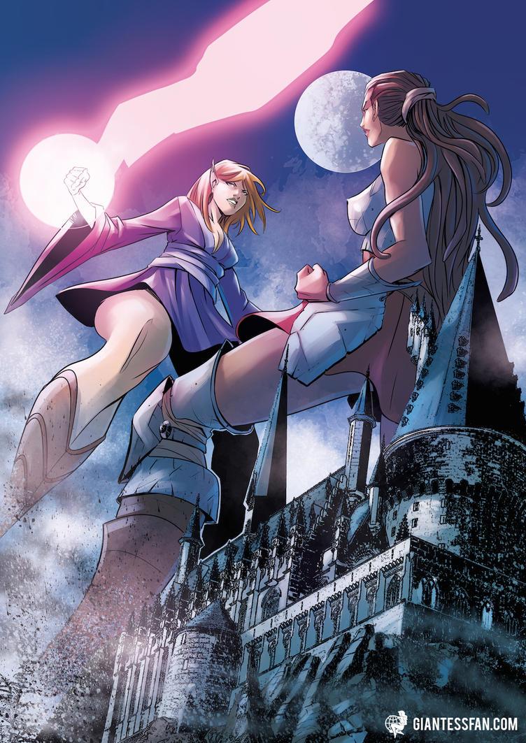 Giantess comic