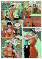 Another Amish Amazon by giantess-fan-comics