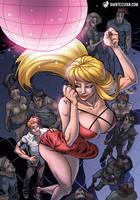 Mini-Giantess in Da Club by giantess-fan-comics