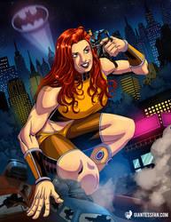 Giganta Comes to Gotham by giantess-fan-comics