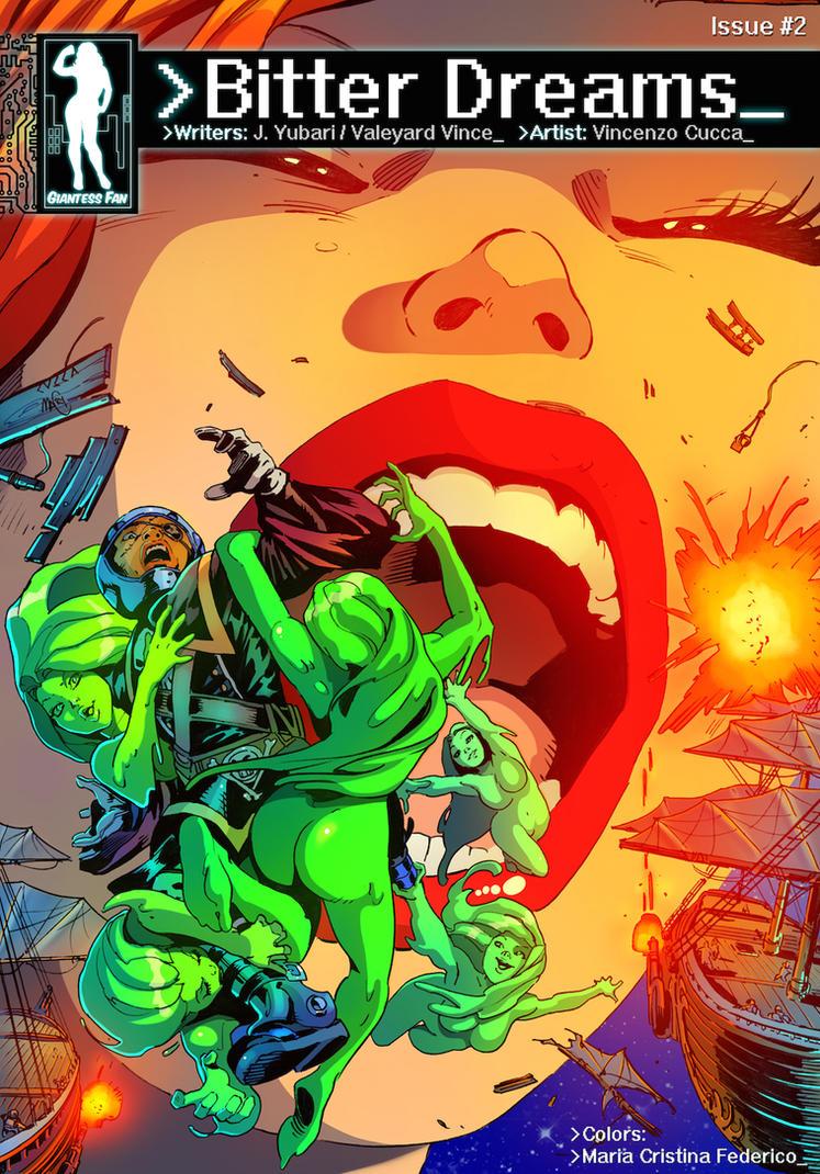 Bitter Dreams 2 - Cyberspace Pirates by giantess-fan-comics