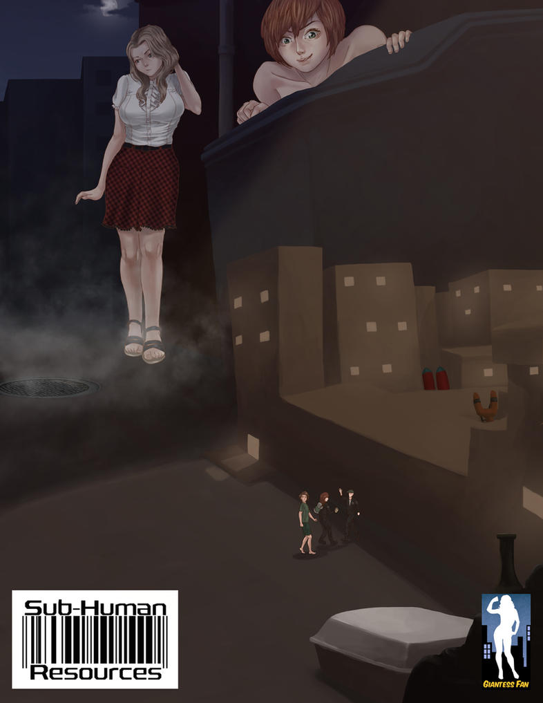 Sub-Human Resources 3 - City of the Underclass by giantess-fan-comics