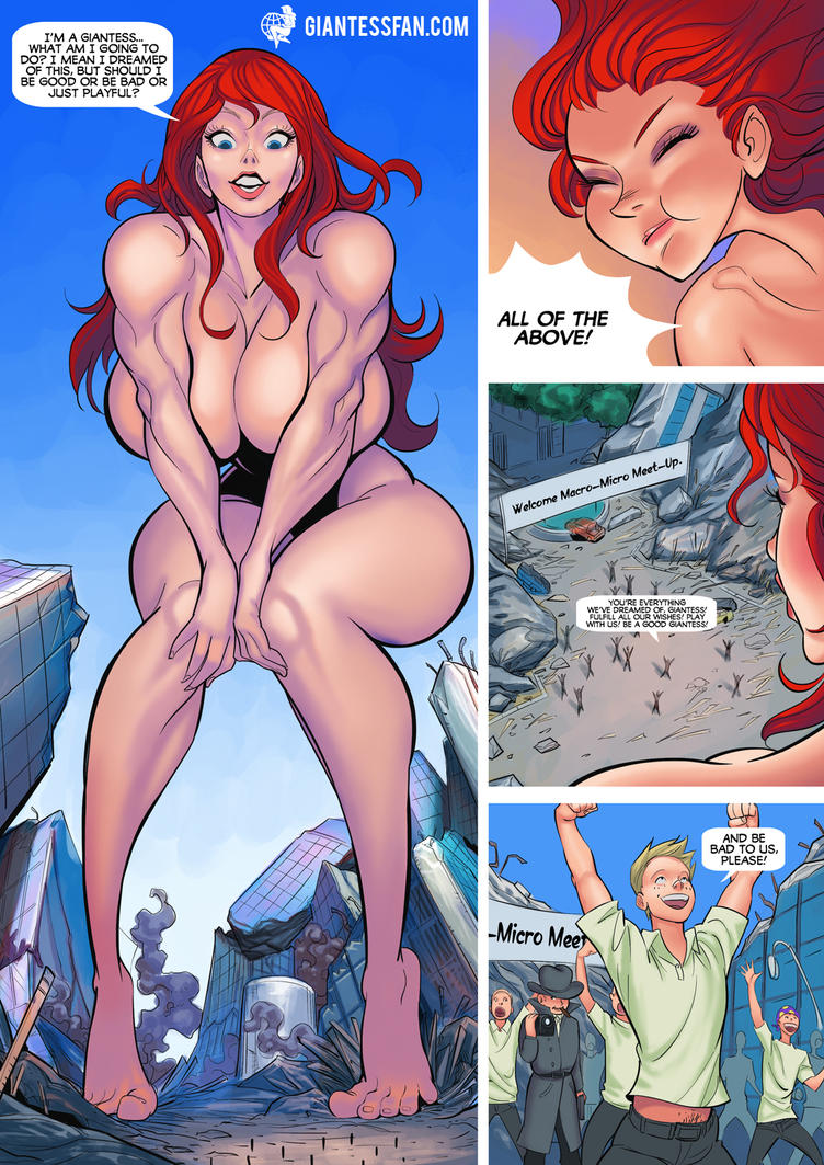 Cartoon giantess fucking fucked gallery