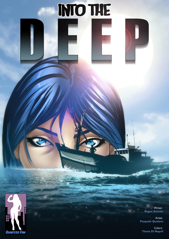Into The Deep - Giantess with Gills by giantess-fan-comics