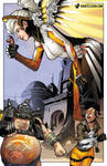 Giantess Mercy Is Out of Mercy