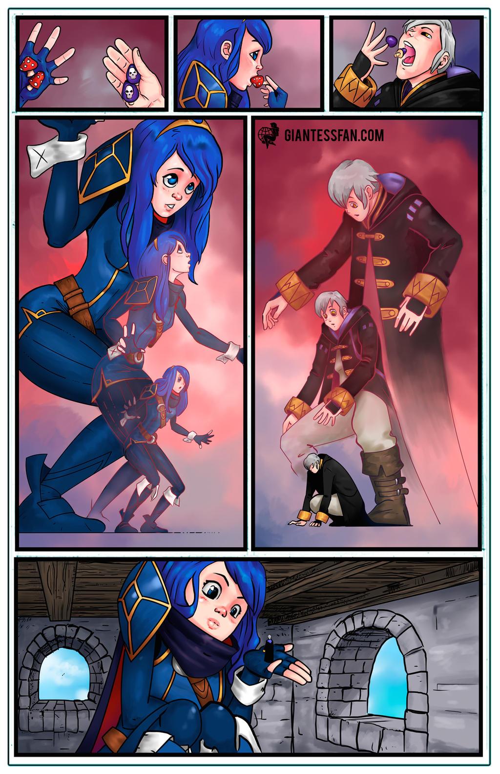 Super Smash Lovers by giantess-fan-comics