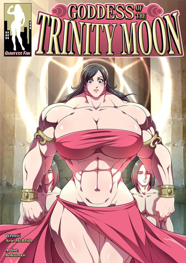 Goddess of the Trinity Moon 3 - A True Goddess by giantess-fan-comics