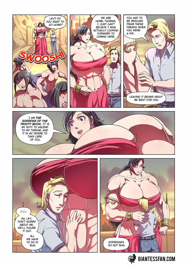 Goddesses Do Not Run by giantess-fan-comics