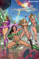 Large in Lingerie 3 by giantess-fan-comics