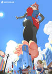 Giantess Android 21