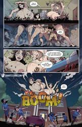 Giantess Campus by giantess-fan-comics