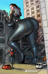 Ant-Man and The PAWG by giantess-fan-comics