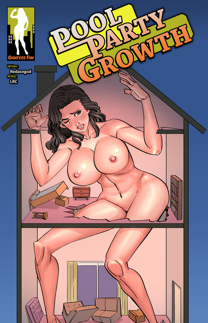 Pool Party Growth 2 - No More Rooms for Robin by giantess-fan-comics