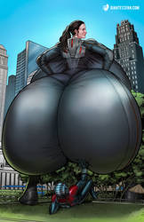 Let's 'Hope' Ant-Man is an Ass Man by giantess-fan-comics