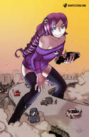 Zone of Destruction by giantess-fan-comics