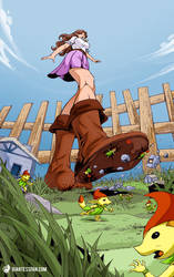 Link Can't Save Them Now! by giantess-fan-comics