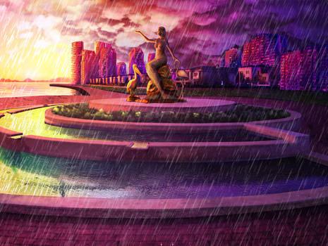 Rainy Izmir