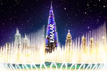 Dubai's Fountain Show