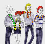 If We All Went To Hogwarts...