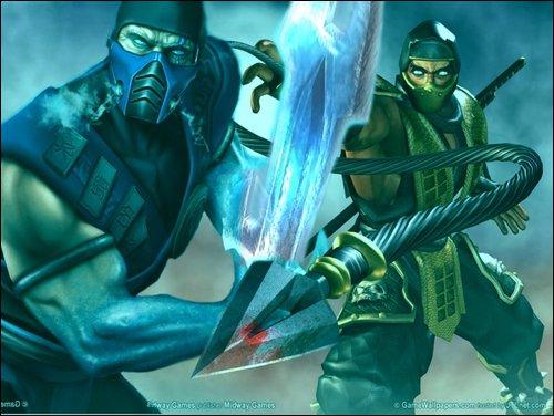 scorpion and sub zero mk9. sub zero vs scorpion. mk9 sub