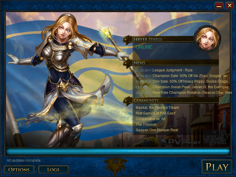LoL's Lux Launcher by maddpatt on DeviantArt