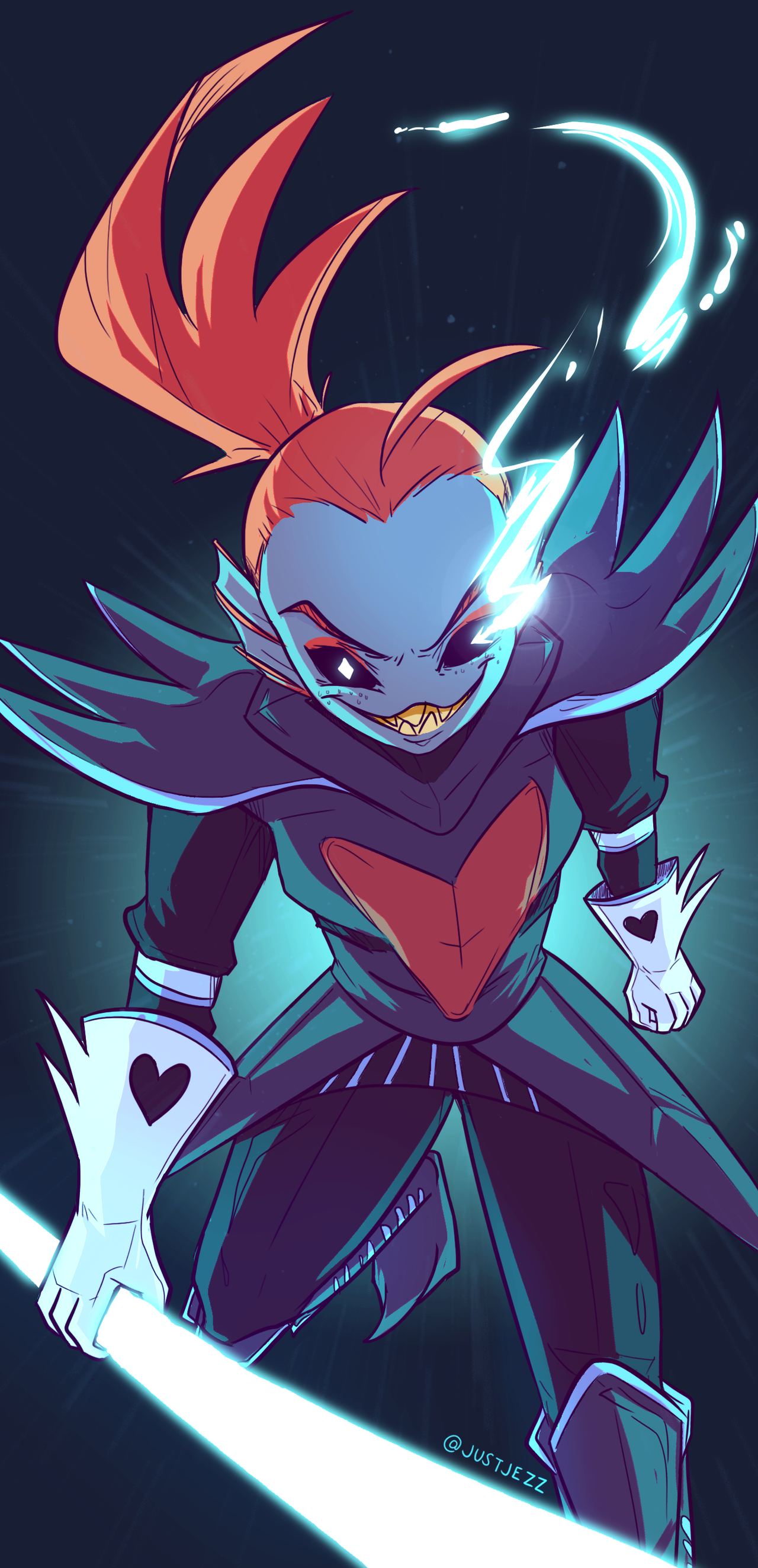 Undertale undyne the undying