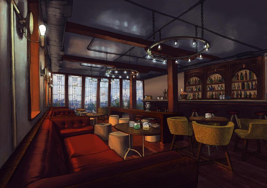 The tavern by Lirael42