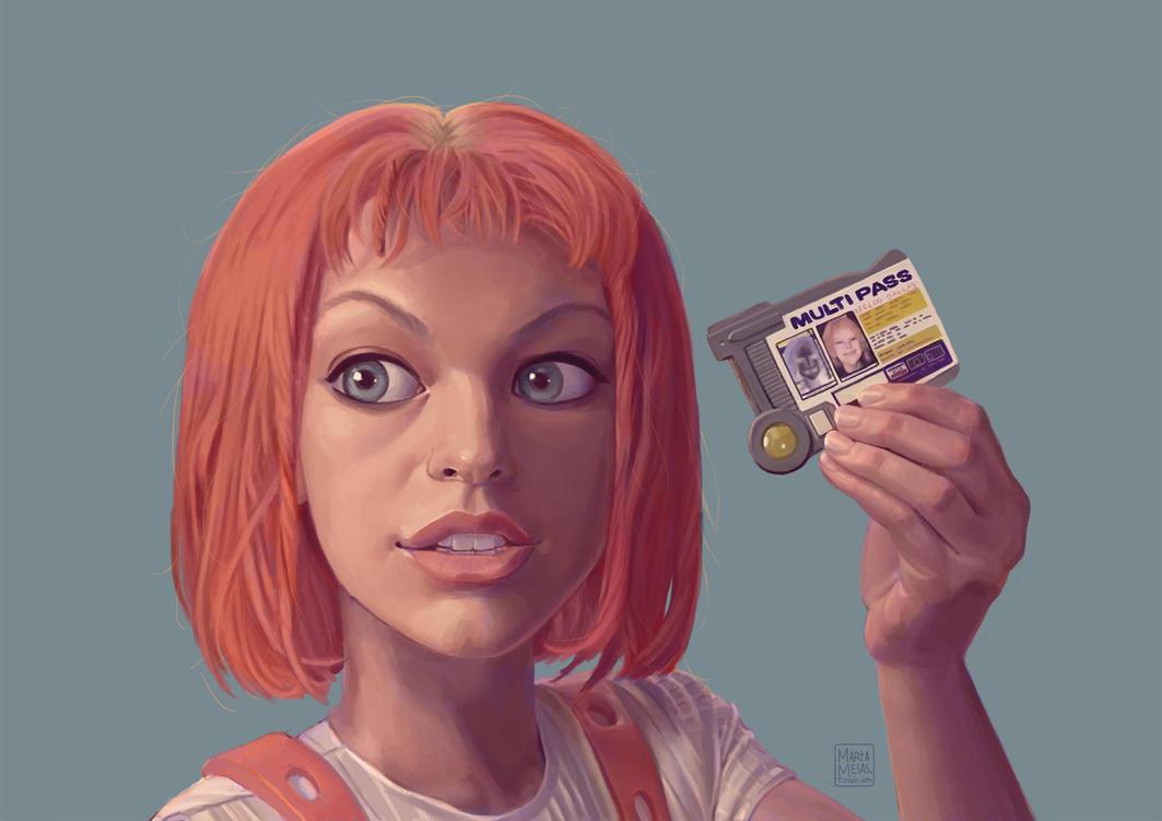 Leeloo Dallas, multipass! by Lirael42