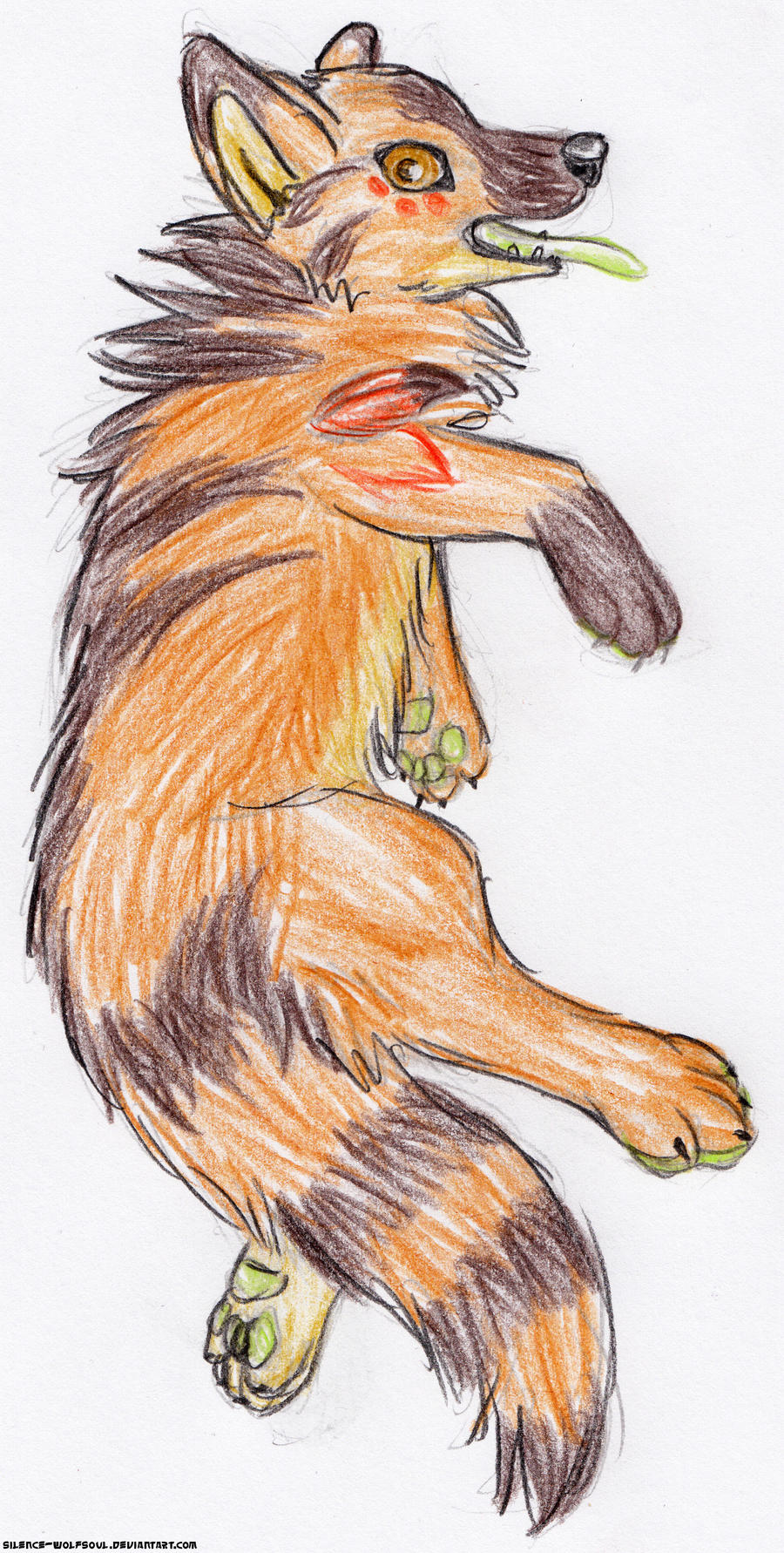 The gallery for --> Native American Wolf Drawings
