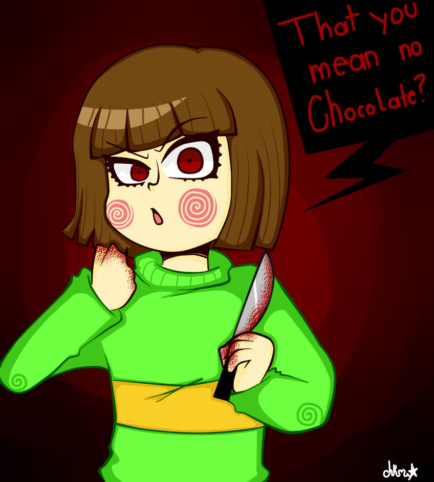 no Chocolate for chara by chikamew