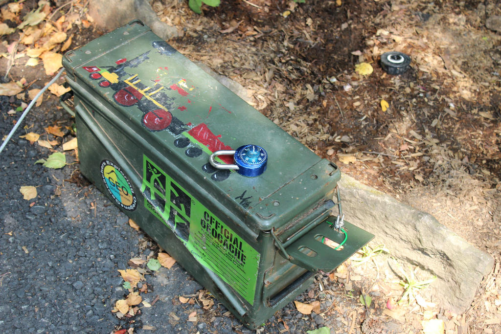 Oregon Zoo Geocaching by VolpeTrickster