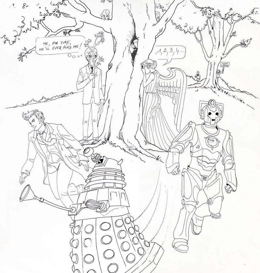 doctor who: hide and seek by DameEleusys