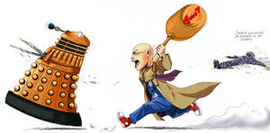 Doctor who: revenge by DameEleusys