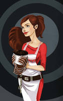 doctor who: Souffle girl by DameEleusys