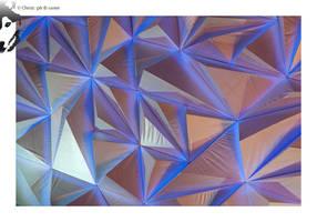 Triangular Wall 2 by BottledLights