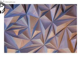 Triangular Wall 4 by BottledLights