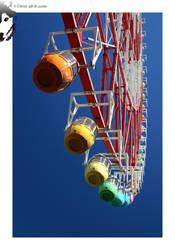Rainbow Ferris Wheel by BottledLights