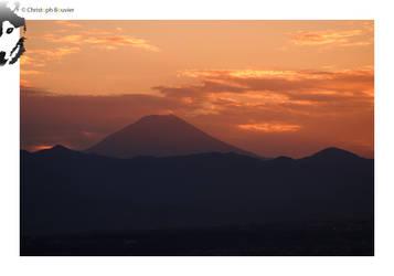 Fujiyama Sunset by BottledLights