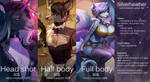 Commission prices by SilverHeather