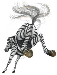Zebra by JennyHaslimeier