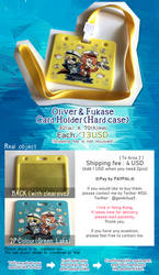 Oliver and Fukase Card Holder Adv