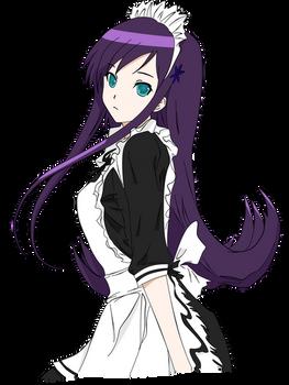 Anime Maid Girl