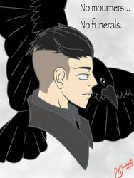 Crows remember by RedSaber23