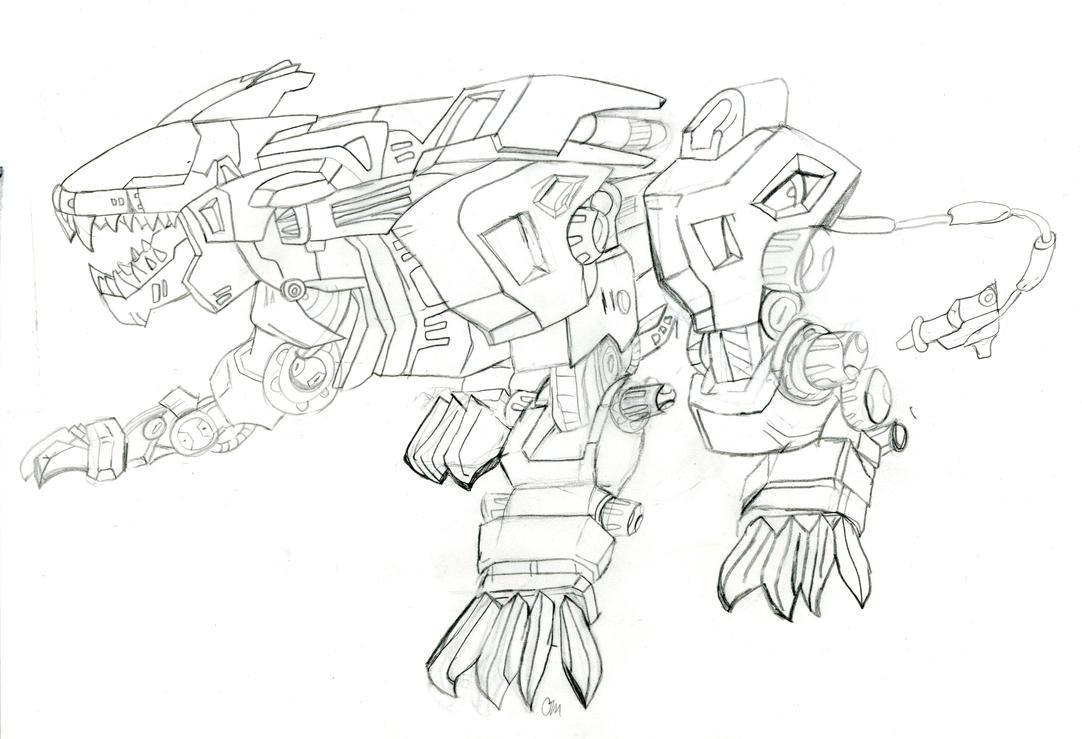 zoids: Liger zero by jazzy-prowlerlover